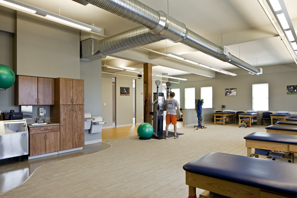 Physical therapy gym—OA Brunswick