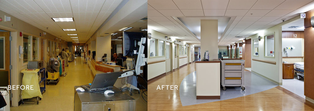 DaySurg int recovery hallway before-after.jpg