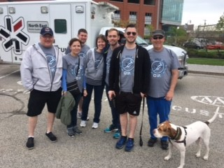 PDT treks 3.5 miles at Southern Maine Heart Walk.