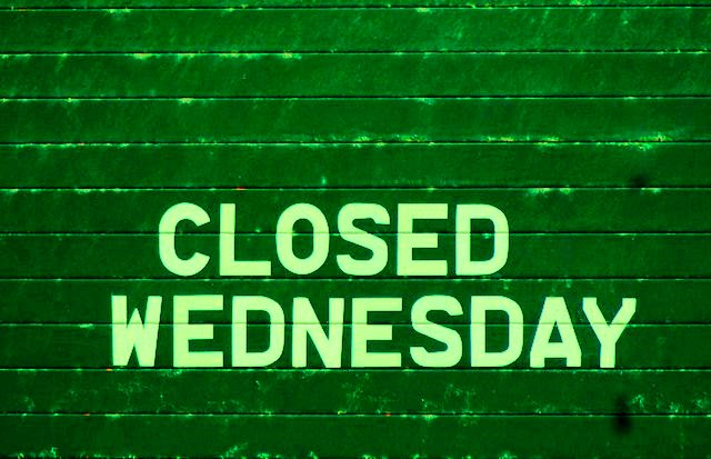 WE WILL BE CLOSED ON ALL WEDNESDAYS DURING THE MONTH OF FEBRUARY    We will re-open on Thursday morning and be open daily from 10am - 5pm during all the other days of the week
