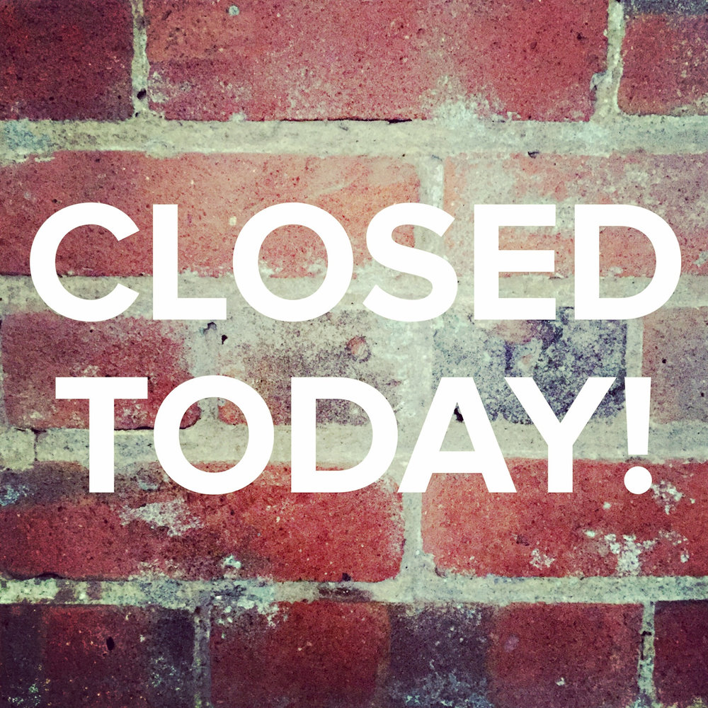 WE WILL BE CLOSED ON ALL WEDNESDAYS DURING THE MONTH OF MARCH    We will re-open on Thursday morning and be open daily from 10am - 5pm during all the other days of the week