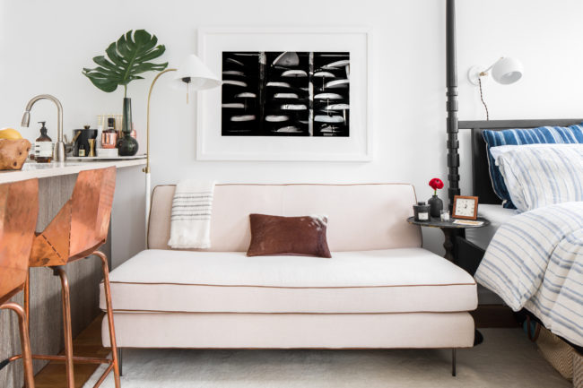 SAVVY HOME - HOW TO DESIGN A SMALL NYC APARTMENT