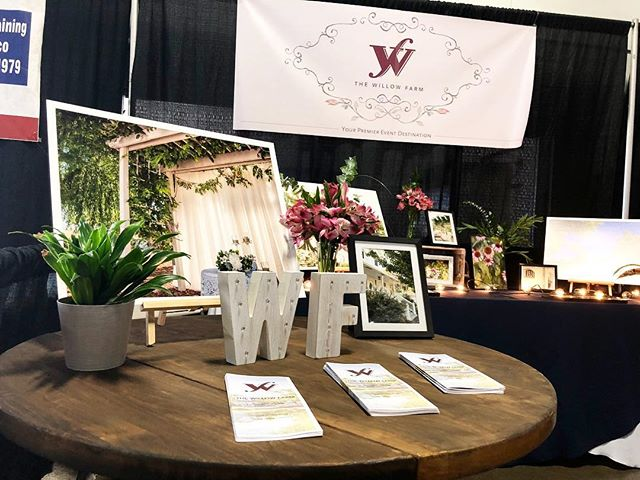 We are still on cloud nine from our amazing bridal show! Meeting you all was so special, and being able to show you around our #willowfarm is even more special! See you soon 💕💍 #thewillowfarm