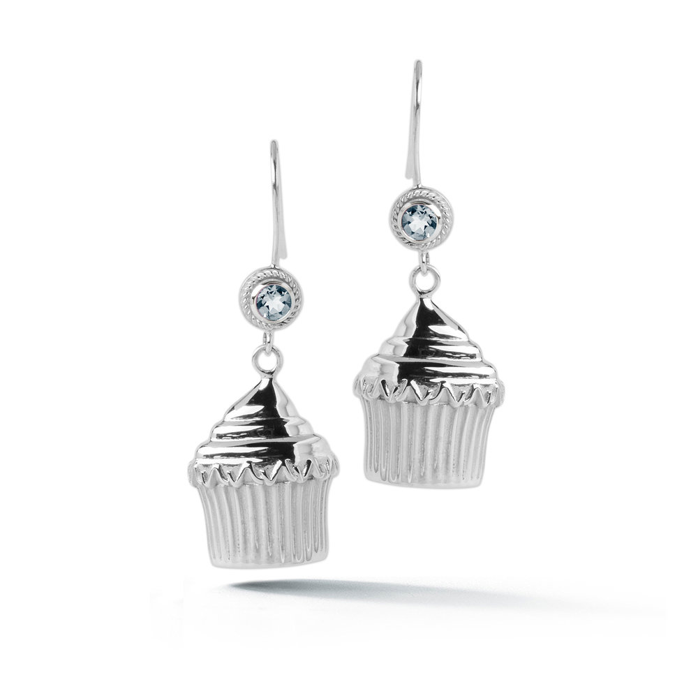 Cupcake Stone Wire Hook Earrings — Beautiful Life Infinity