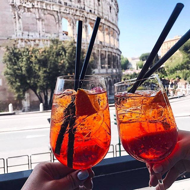 Happy weekend from Rome with LOVE! ❤️❤️ Inspo by @die.kim #rome #weekend #vino #vacation ⠀ .⠀ .⠀ .⠀ .⠀ .⠀ #cheers #italy #natgeoyourshot #topromephoto  #aplacetoremember #theglobalwanderer #thebestdestination #picoftheday #photooftheday #explore #instatravel #beautifuldestinations #passionpassport #earthpix #travellife #awesomeearth #worldplaces #italian_places #sheisnotlost #traveldeeper #wanderer #roamtheplanet #lifewelltravelled⠀
