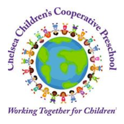 Chelsea Children's Cooperative Preschool - PO Box 391, 500 E Washington St. Suite 408Chelsea, MI 48118734-433-1938president@chelseacoop.org