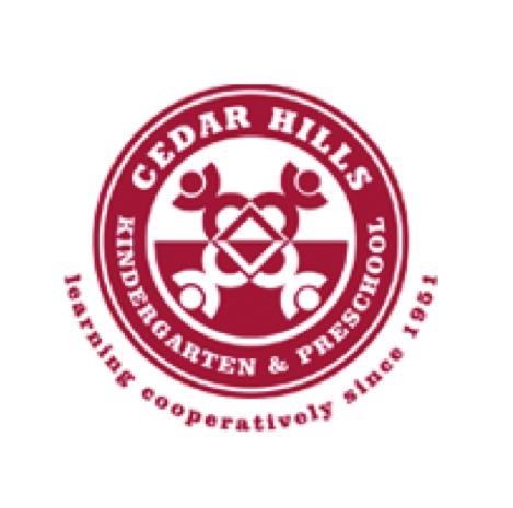 Cedar Hills Kindergarten & Preschool - 11695 SW Park WayPortland, Oregon 97225503.643.9010president@cedarhillskp.org