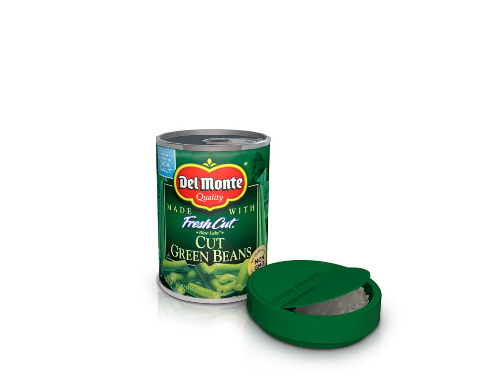 Seasoning Packet& Resealable Lid - Cans will be outfitted with different seasoning packets which can be used to easily add extra flavor to the food inside.The packets also double as a resealable lid for the can. It can be snapped to the top of the can, and stored in the fridge after opening.