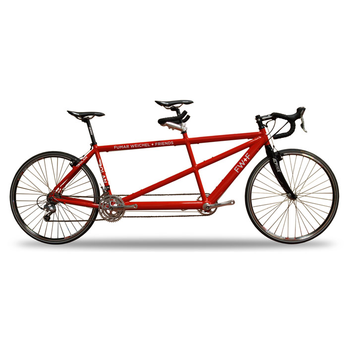The Creative Teamdem Bike - Creatives love bikes. Now you can bike with your creative partner.