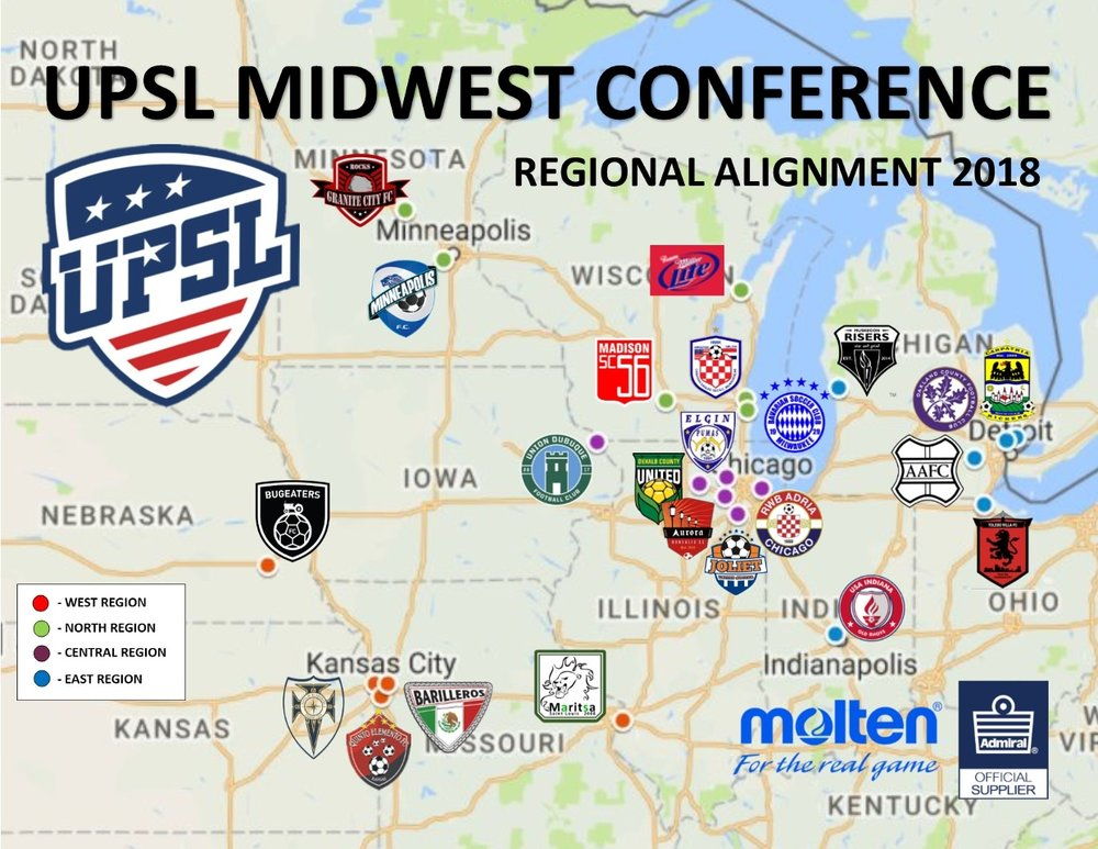 Image courtesy of the United Premier Soccer League