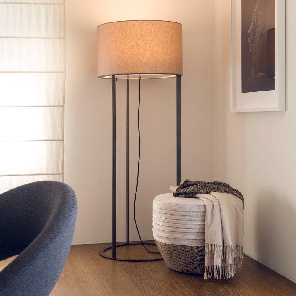LOE FLOOR LAMP LED H 190 ø 60 / H 160 ø 60