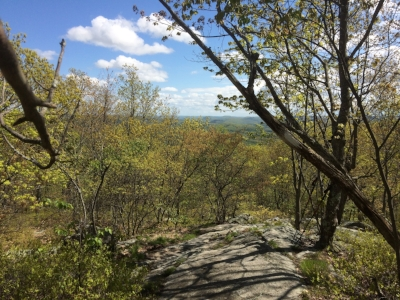 View from Schaghticoke Mountain.