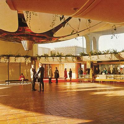 1967-1999 vancouver museum lobby
