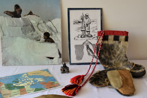 Cedar and Sealskin -  Examine artefacts telling us how Aboriginal Cultures met their basic needs for food, clothing and shelter.Excavate objects from Northwest Coast Cultures and follow the seasonal cycle with objects showing how Inuit lived, played and hunted.