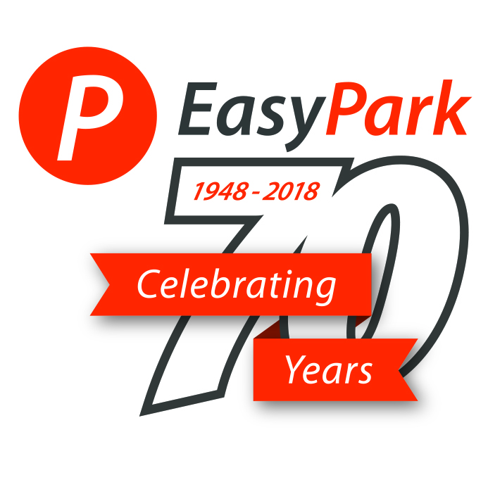 EasyPark 70th Full Logo - CMYK