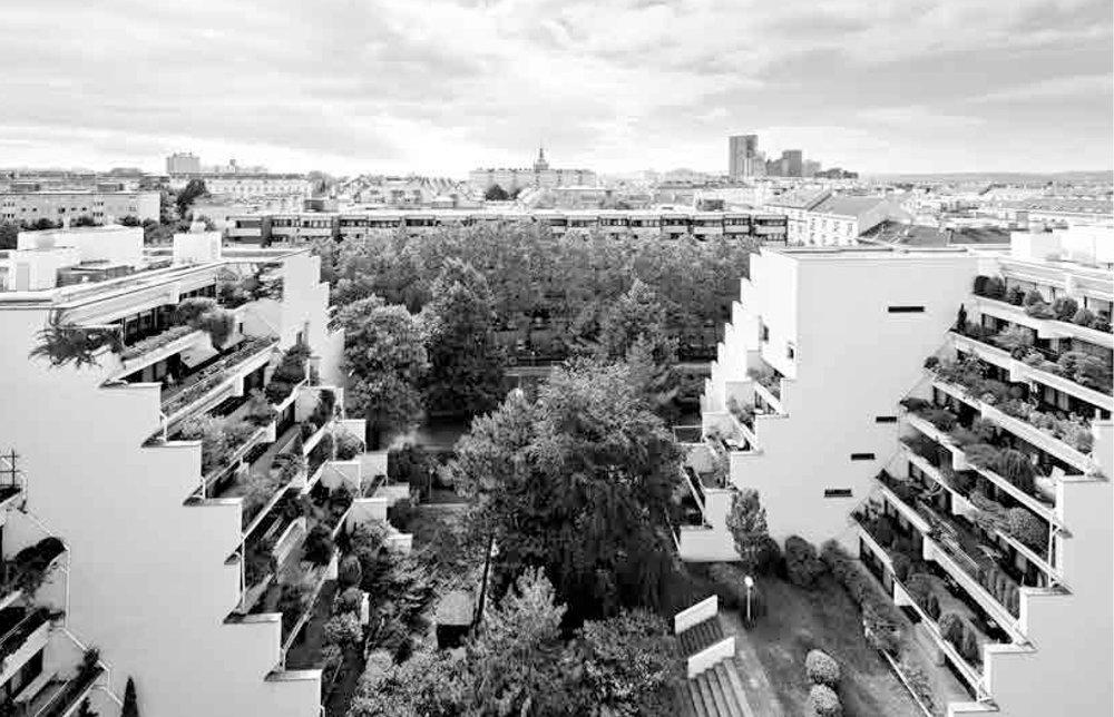 The Vienna Model / Terrassenhaus Inzersdorfer Straße, 1974