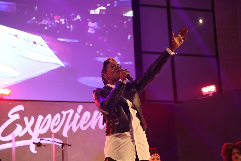 THE GLORY EXPERIENCE live recording at New Light Church in Houston, TX