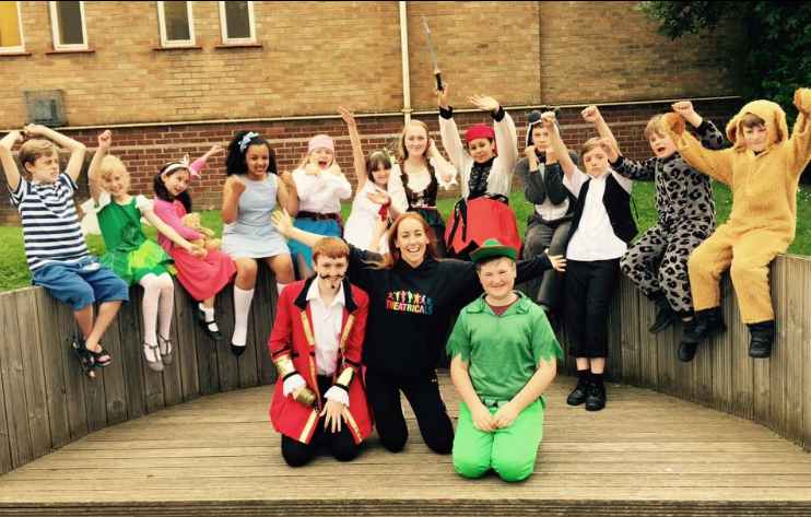 A few members from Peter Pan - Summer 2016