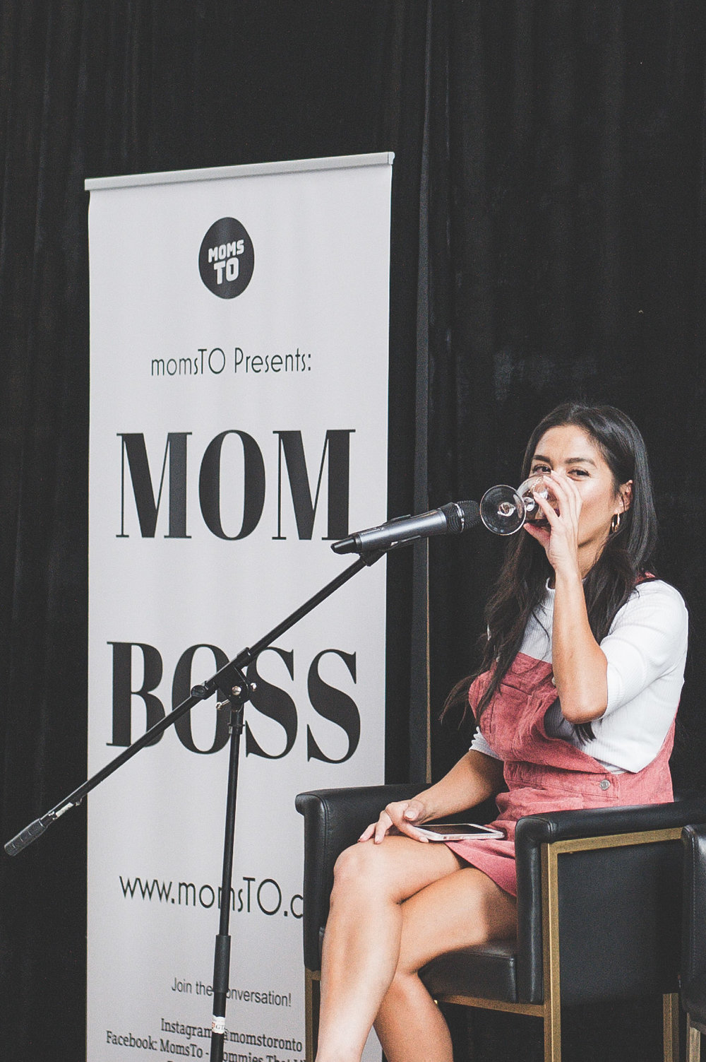 Pictured here at a recent  @MOMSTO  event