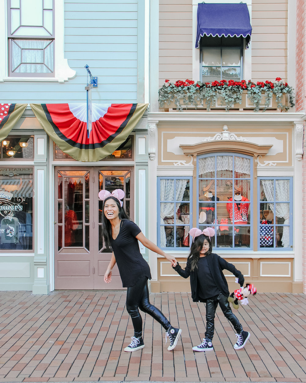 Hurry up - don't want to miss our reservation at Cafe Orleans!