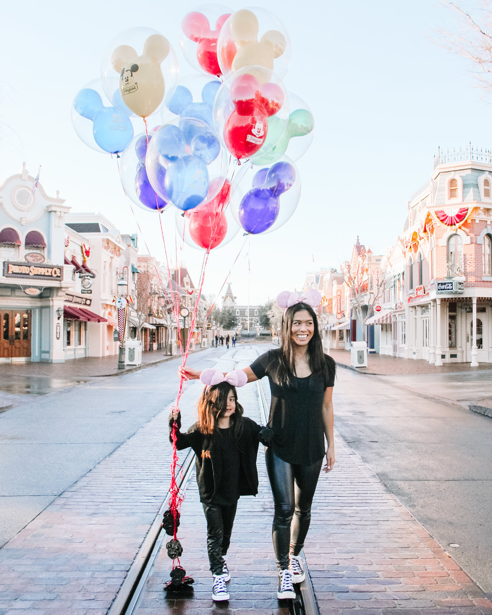 Harper had the time of her life at Disneyland!