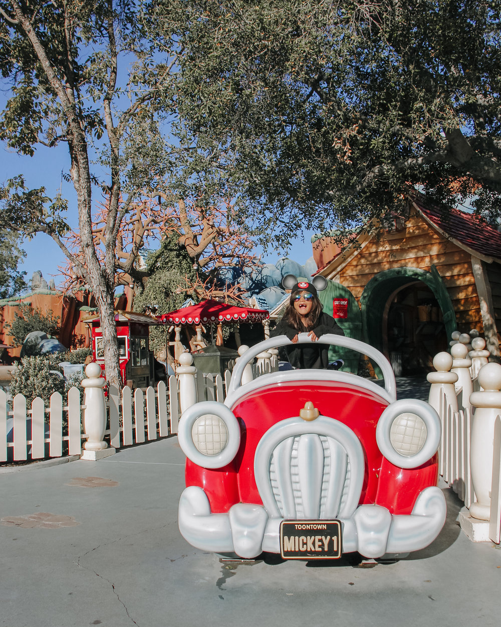 Hanging out in Toon Town!