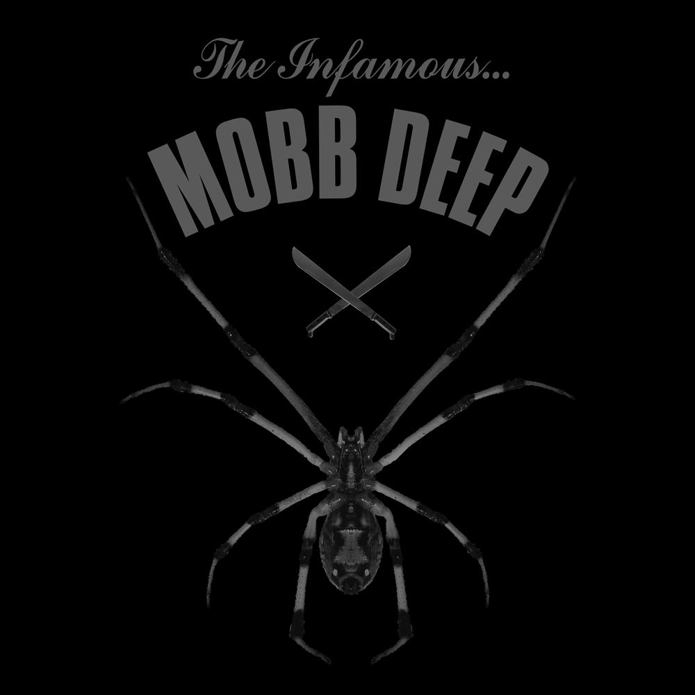 MOBB DEEP SPIDER TEE DESIGN BY DOM DIRTEE