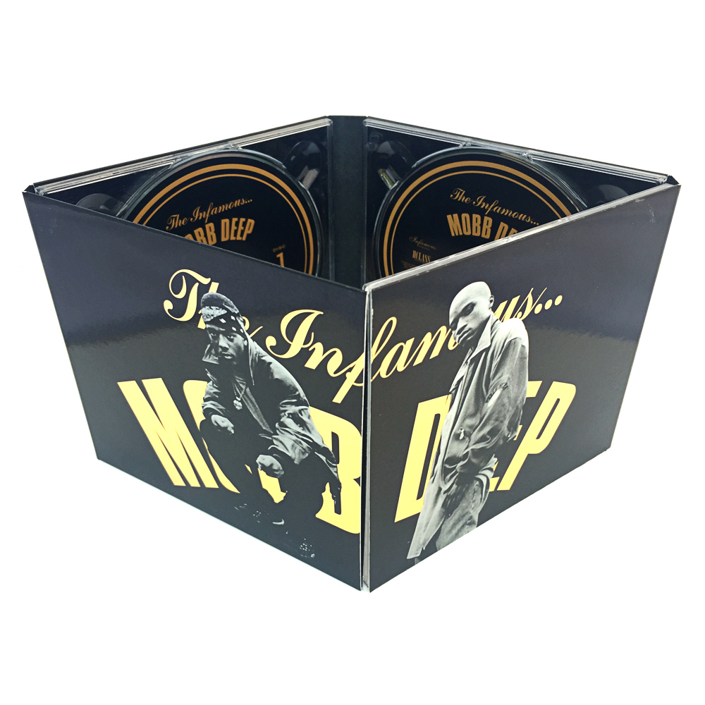 MOBB DEEP LIMITED-EDITION 3-DISC DIGIPAK ON GOLD BOARD