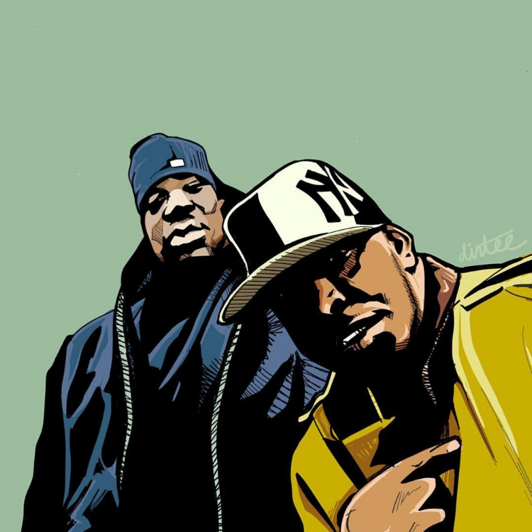 M.O.P. DRAWING BY DOM DIRTEE