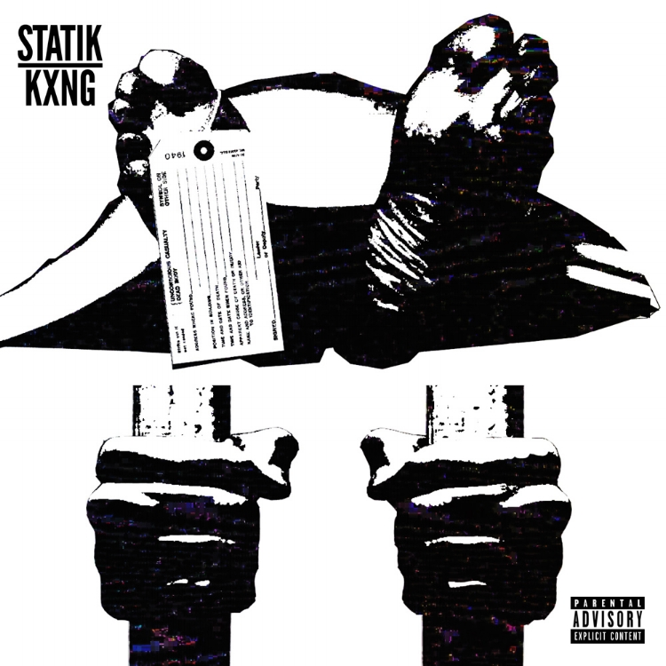 "STATIK KXNG ""DEAD OR IN JAIL"" SINGLE ARTWORK BY DOM DIRTEE"