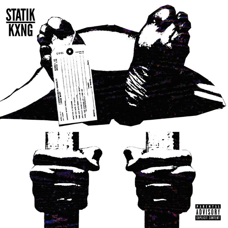 """STATIK KXNG """"DEAD OR IN JAIL"""" SINGLE ARTWORK BY DOM DIRTEE"""