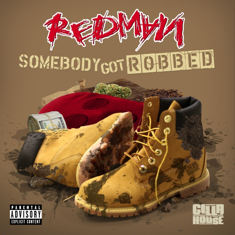 "REDMAN ""SOMEBODY GOT ROBBED"" SINGLE ARTWORK BY DOM DIRTEE"