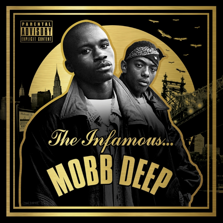 """""""THE INFAMOUS MOBB DEEP"""" COVER ARTWORK"""