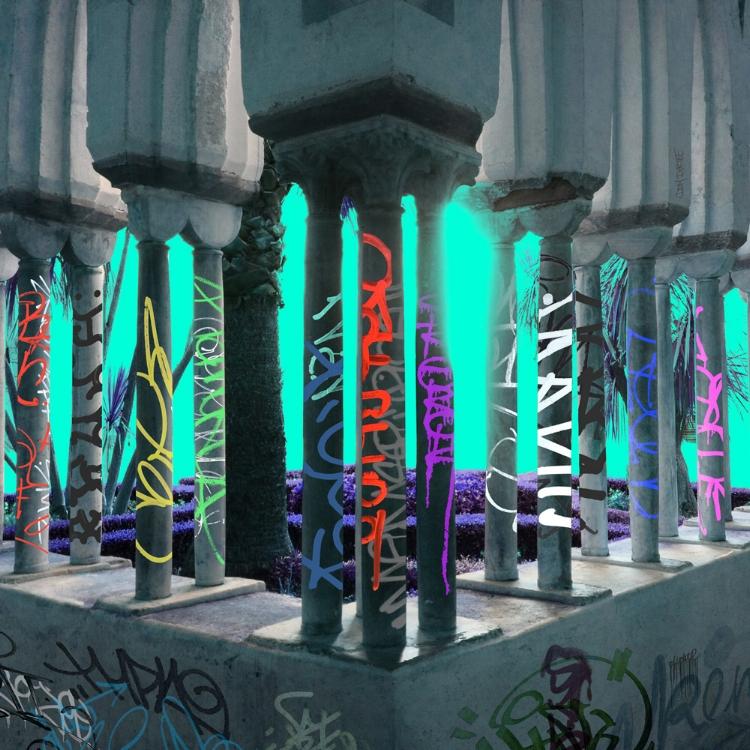 UNTITLED LANDSCAPE ARTWORK BY DOM DIRTEE