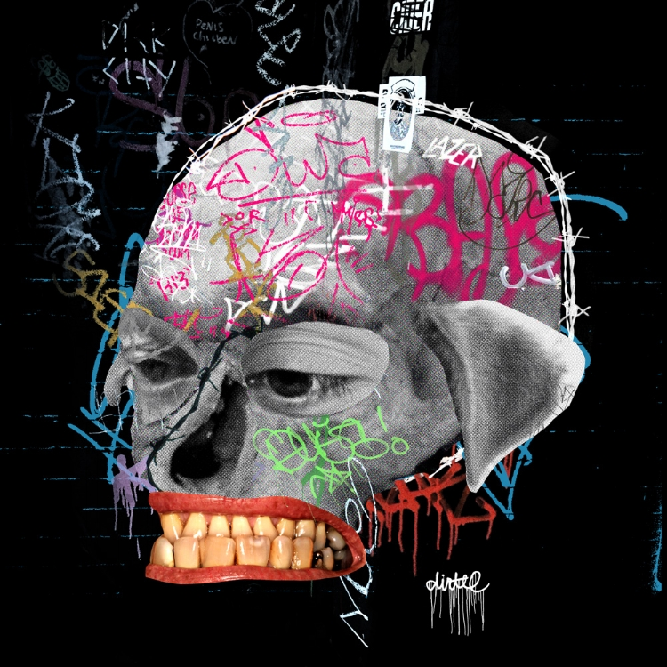 SKULL ART BY DOM DIRTEE