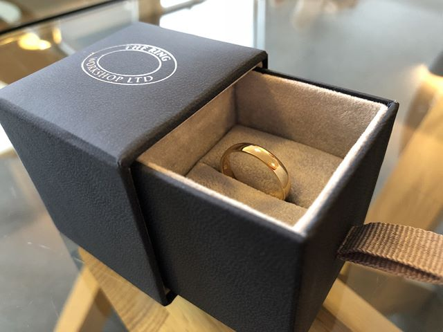 More than just a simple gold band... A client recently brought us this gold wedding band for refurbishment ahead of his wedding day. The ring was originally his Grandmother's. We resized it, refurbished it and engraved it with both his grandparent's wedding date in 1956 and his own in 2018.  In addition to crafting new rings, we love to take vintage or inherited complete pieces, stones and metals and refurbish or repurpose them into new designs.  01691 238297 | enquiries@ringworkshop.co.uk | buff.ly/2JOsybQ  #wedding #weddingring #vintage #gold #history #shropshire #oswestry #cheshire #chester #northwales #wrexham