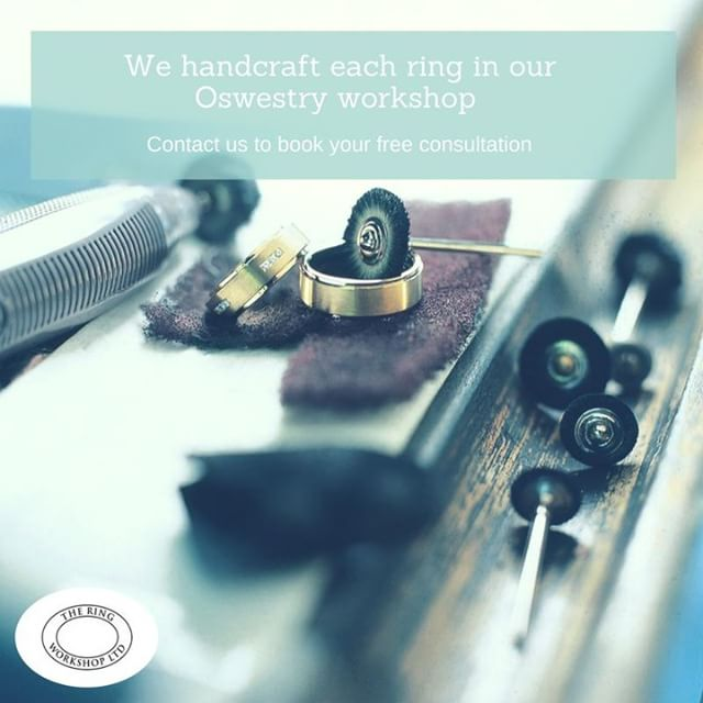 Unlike most high street jewellers, we craft all orders at our Shropshire workshop. If you have something special in mind for an engagement, wedding or a gift for a lucky someone, just let us know. There's a good chance that we'll be able to realise your vision!  All consultations at our shop in Oswestry town centre are free, and by appointment only.  01691 238297 | enquiries@ringworkshop.co.uk | buff.ly/2JOsybQ  #engagementring #weddingrings #eternityring #jewellery #oswestry #shropshire #wrexham #northwales #chester #cheshire #bespoke #crafted