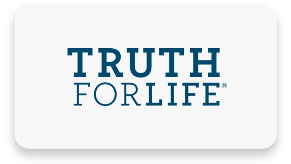Truth For Life Weekdays at 11 AM Weekends at 4 PM