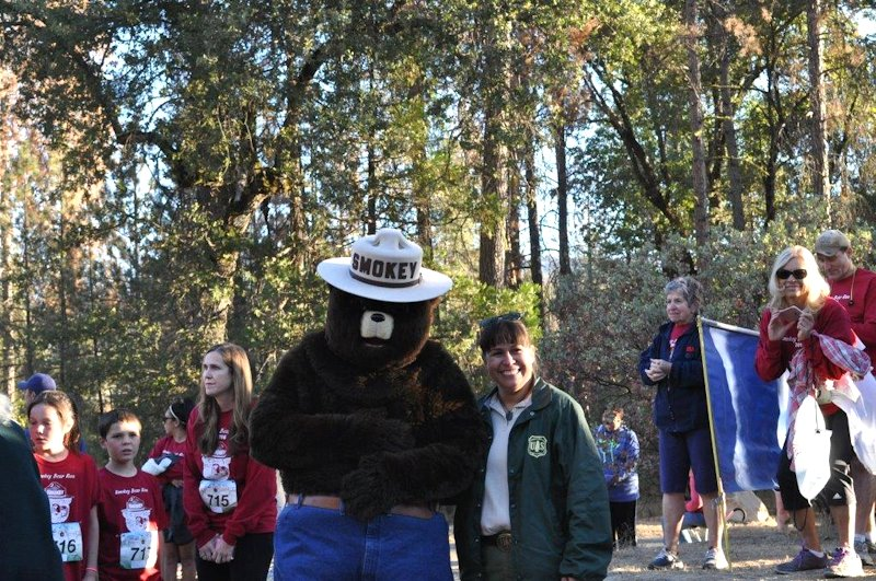 uduar sMOKEY BEAR RUN/WALK pHOTO COURTESY SMOKEYBEARRUN.COM