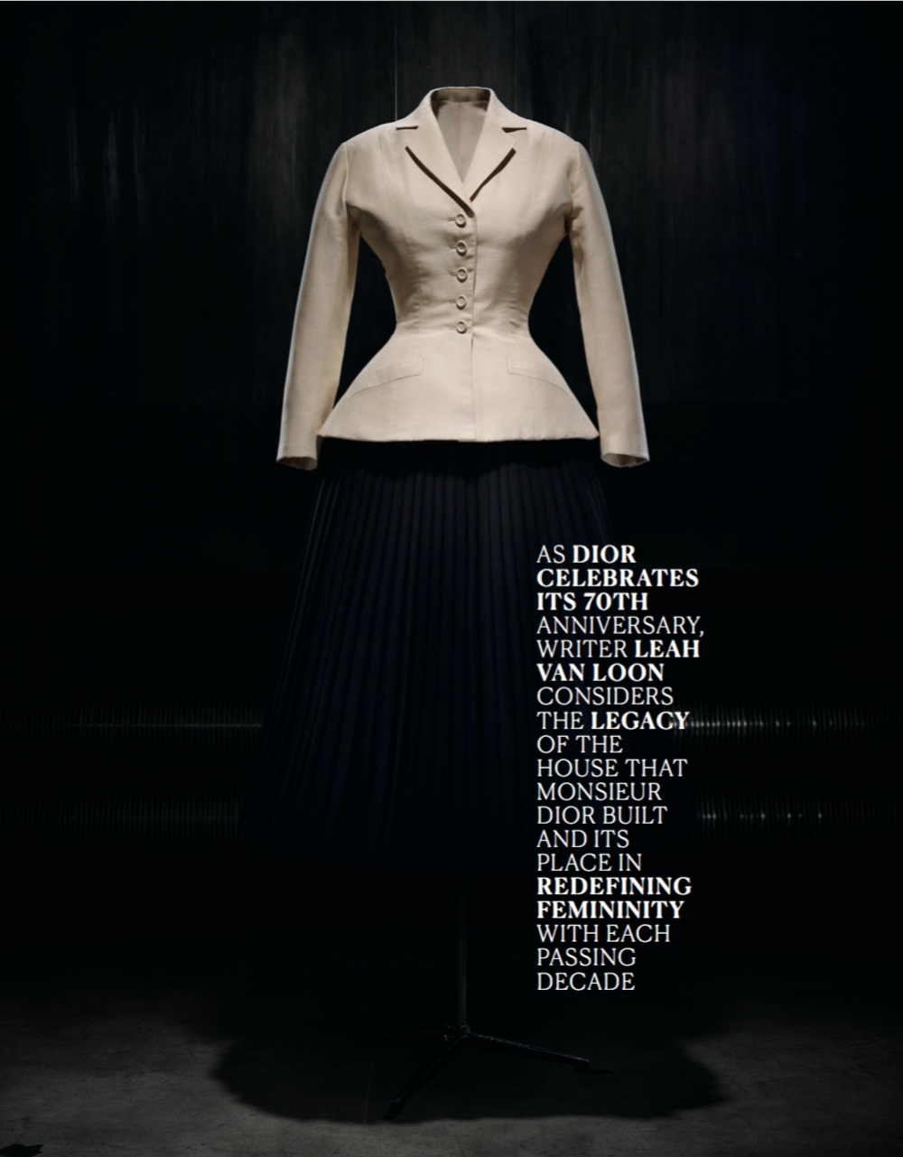 Introduction Dior by Leah Van Loon S magazine