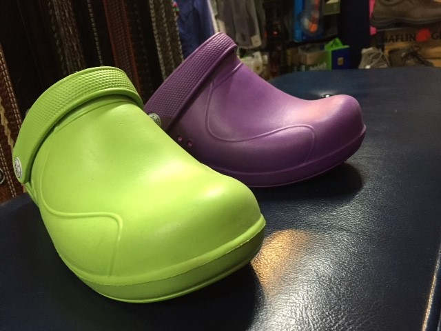 Rain clogs for women