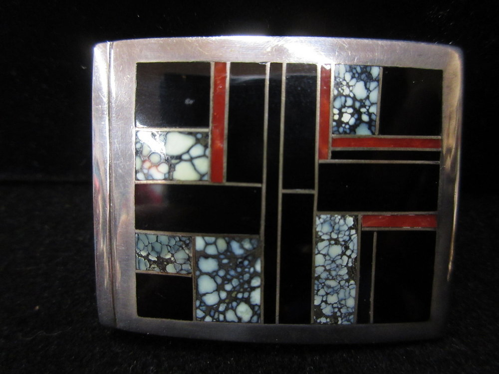 Ray Tracey Belt Buckle
