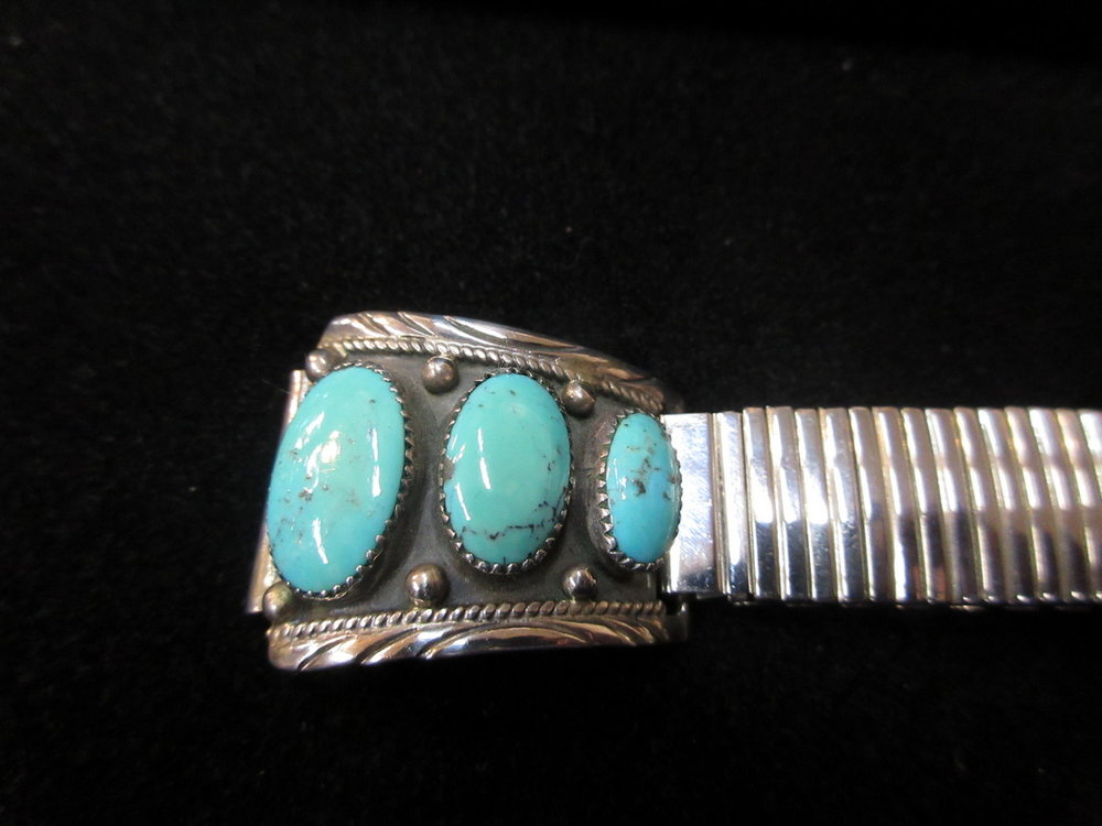 Turquoise Watchband Detail