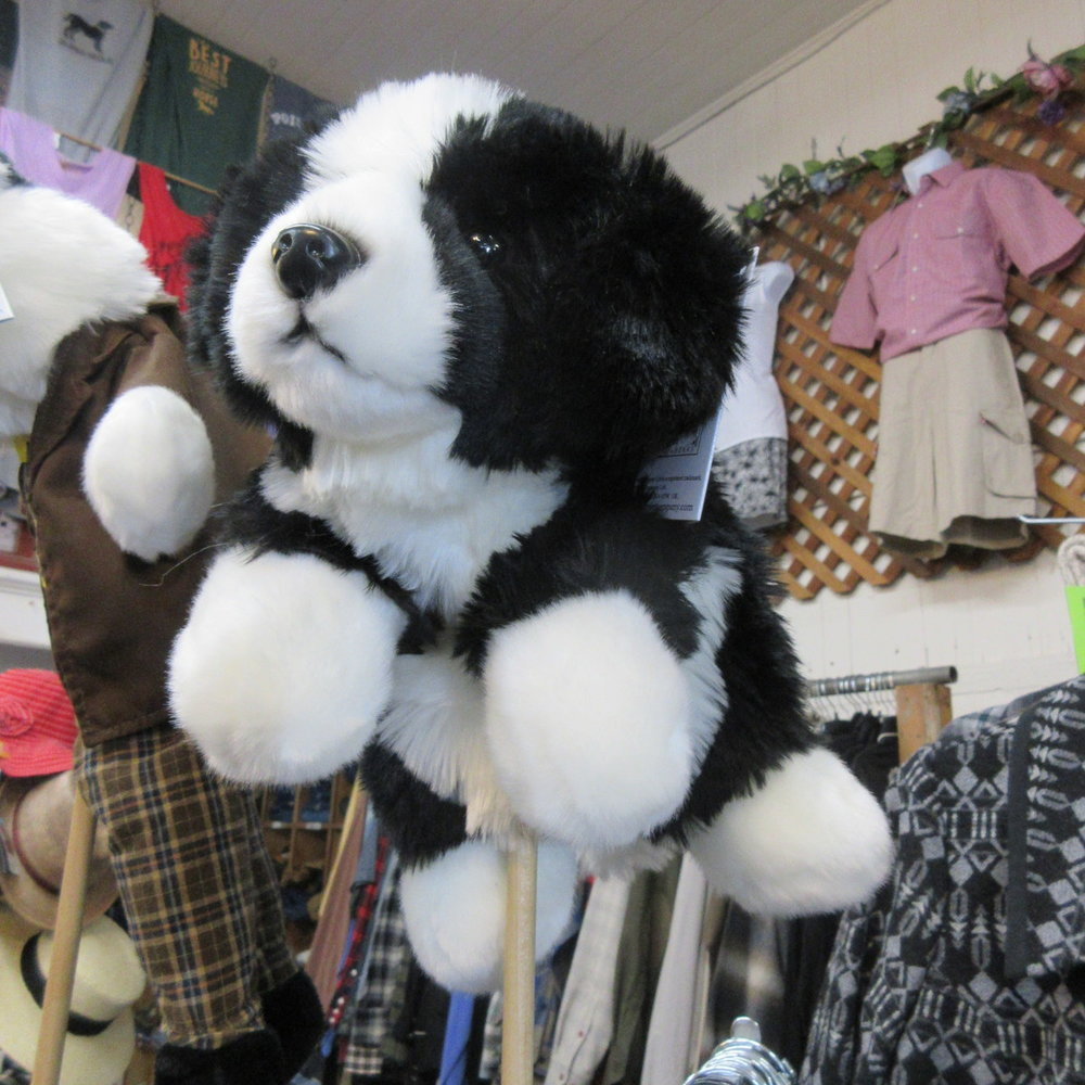 Border Collie Dog Puppet from the Puppet Company