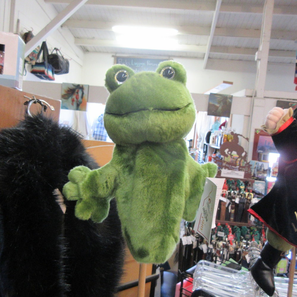 Frog Puppet from The Puppet Company