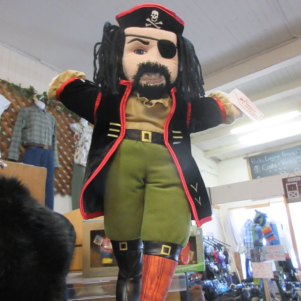 Pirate Puppet from The Puppet Company