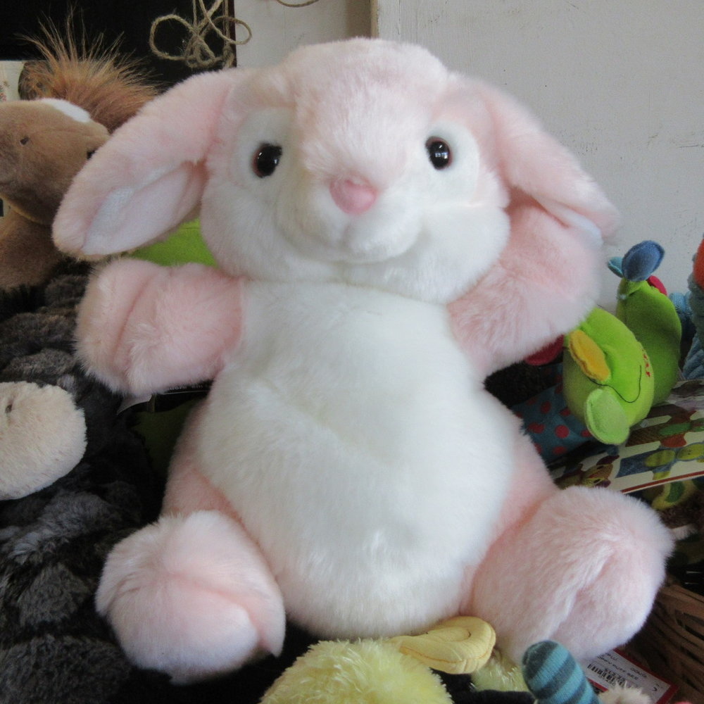 Pink Rabbit Puppet from The Puppet Company