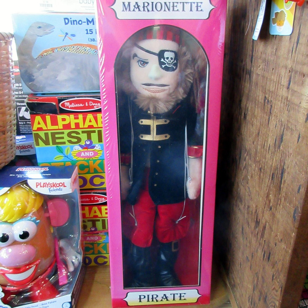 Pirate Puppet Marionette from The Puppet Company