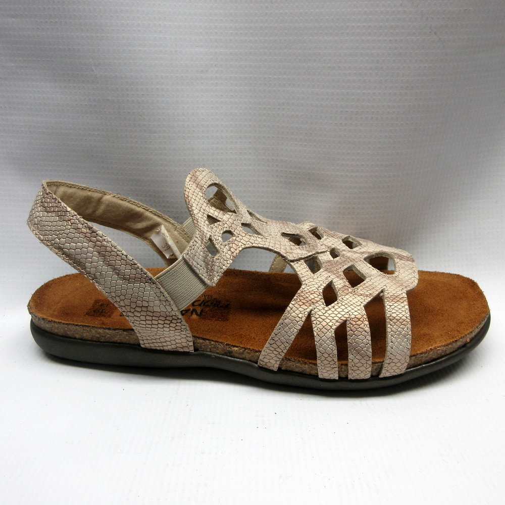 c2a0870dd7fe Naot sandals women rebecca in beige snake size cabaline JPG 500x500 Naot  sandals women
