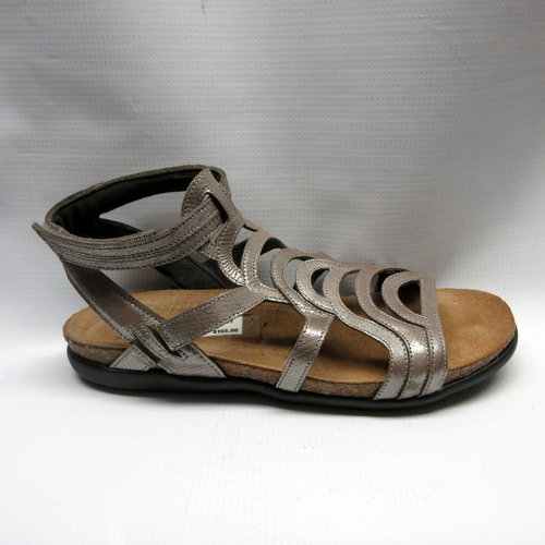 f3aff65428d8 Naot Sandals Women Sara in Silver — Cabaline